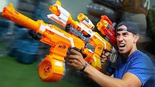 NERF Junkyard Build Your Weapon Challenge!
