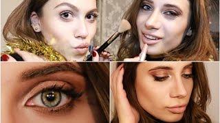 En Yakın Arkadaşımla Renkli Gözler İçin Bronz/Kızıl Makyaj