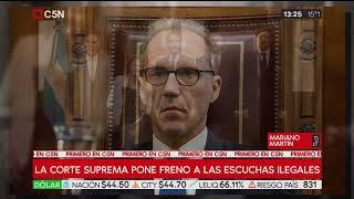 La Corte Suprema Pone Freno A Las Escuchas Ilegales