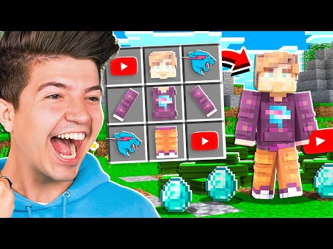How to Craft MrBeast in Minecraft OP