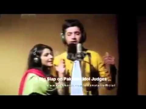 Xxx Mp4 A Big Slap On Judges Sun Raha Hai Tu Pakistan Idol Awsm Voice Full Video HD 3gp Sex