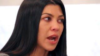 Kim Kardashian Makes Kourtney Kardashian Cry After Epic Fight  - KUWTK Recap   Hollywoodlife