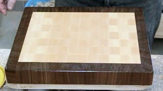 The basics of making end grain cutting boards. Part 2.