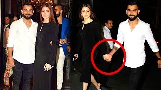 Virat Kohli Confirms MARRIAGE With Anushka Sharma By Holding HANDS At Zaheer Khan's Engagement