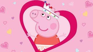 Peppa Pig English Episodes | Peppa Pig Celebrates Valentine