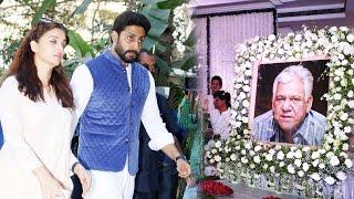 Aishwarya Rai & Abhishek Bachchan At Om Puri