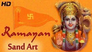Valmiki Ramayana in Hindi - Sand Art with English Subtitles- Sand Kaushik   Full Video in HD