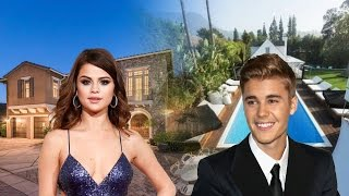 Justin Bieber House vs Selena Gomez House Tour 2017