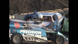 2009 Dirt Racing Highlights Crashes and Fights Racinboys TV