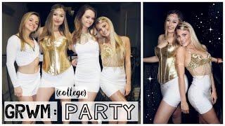 Get Ready With Me (+ friends): A College Party (USC)