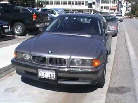 Jarrah White finds a BMW 750iL (Tomorrow Never Dies)