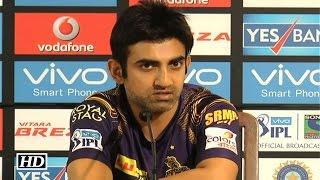 IPL9 KKR vs RPS: Gambhir Reacts On Dhoni's Poor Show