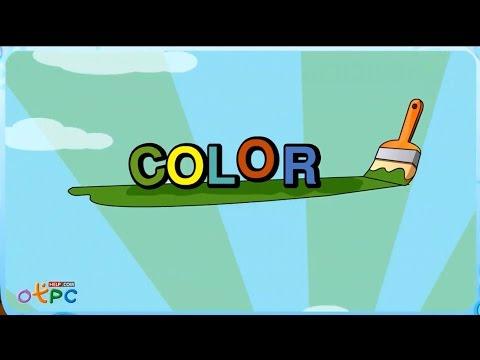 เพลงเด็กๆ สอนภาษาอังกฤษเรื่อง สี color