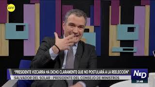 """Salvador del Solar: """"No estamos pidiendo eliminar la inmunidad parlamentaria""""."""