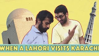 When An Annoying Lahori Visits Karachi   MangoBaaz