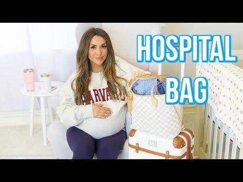 WHAT'S IN MY HOSPITAL BAG | ALEX GARZA