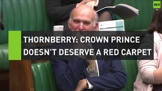 Thornberry: Crown Prince doesn