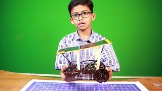 Solar Car Science Project: Learn How to Make a Solar Car (Urdu)