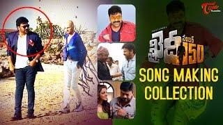 Khaidi No 150 Movie Song Making Video   Chiranjeevi, Kajal Aggarwal