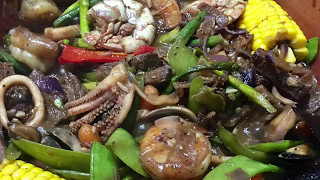 Beef And Seafood Salpicao