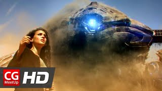 "CGI Sci-Fi Short Film ""Seam Short Film"" by Elan Dassani and Rajeev Dassani at Master Key Films"
