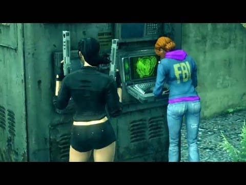 Nerd Time is Over: Stop All the Downloading. Babe Gets NEMO Chair (Saints Row 3 | Female)