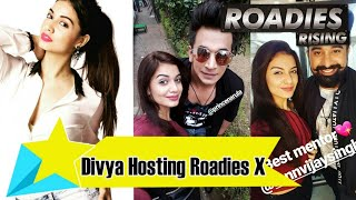 Divya Agarwal Hosting The Roadies Xtreme With Prince Narula And Ranvijay|Divya Agarwal |