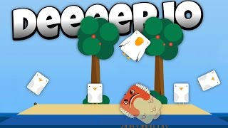 Deeeep.io - Deadly New Stonefish! - Lets Play Deeeep.io Gameplay