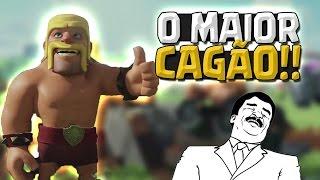O MAIOR CAGAO DA GUERRA NO CLASH OF CLANS