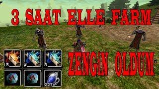 Knight Online | 3 Saat Ardream Deruvish Farm | Zengin Oldum
