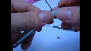 ensinando fazer caneta de choque!!