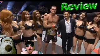 ONE FC 42 ROGER GRACIE WINS LIGHT HEAVYWEIGHT TITLE MAKING HISTORY FOR GRACIE FAMILY REVIEW