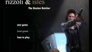Criminal Investigation Games -  Rizzoli & Isles:  The Boston Butcher
