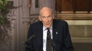 Alan K. Simpson delivers eulogy at George H.W. Bush