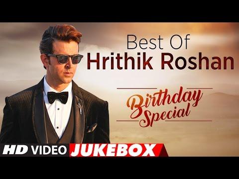 Best Of Hrithik Roshan Songs   Birthday Special   Video Jukebox   T-Series