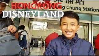 GOES TO DISNEYLAND HONGKONG!!!!!! -VLOG HONGKONG#1