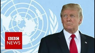 Trump at the UN: What to watch out for - BBC News