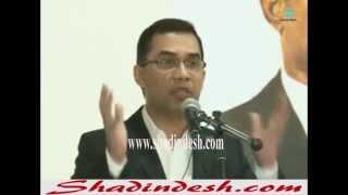 Tarek Zia Speech at London Royal Regency Hall on 25th March 2014 (Full)
