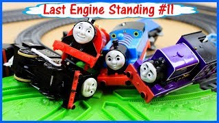 SODOR DEMOLITION DERBY|THOMAS AND FRIENDS TRACKMASTER|Last Engine Standing #11 Toy Trains of David