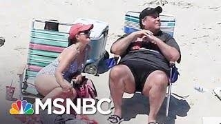 Christie Spokesman: Governor Chris Christie Was Only On Beach For 45 Minutes | MSNBC