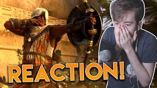 IT'S FINALLY HERE! | AC Origins CGI/Cinematic Trailer - Live REACTION + Thoughts