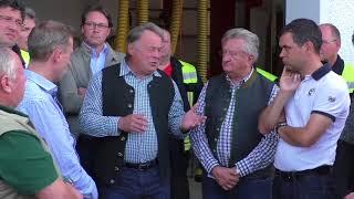Minister Brunner äußert sich zum Unwetter in Passau 2017   pnp.de