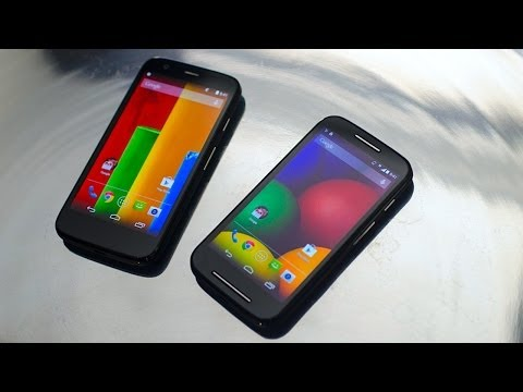Moto E vs Moto G: How much sacrifice is $50 worth?