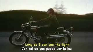 CREEDENCE CLEAWATER REVIVAL - LONG AS I CAN SEE THE LIGHT - Subtitulos Español & Inglés