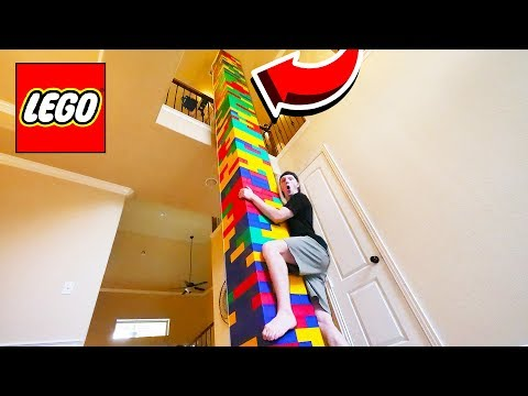 BUILDING WORLD S TALLEST LEGO TOWER 50FT