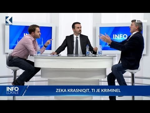Info Lokale - Frasher Krasniqi, Milaim Zeka  - 29.09.2017 – Klan Kosova