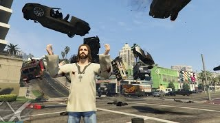 Jesus using The Force | GTA 5 PC Mod