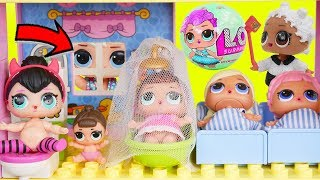 L.O.L. Surprise! Dolls New Baby Babysit Wrong Clothes House Lil Sisters Custom Vending Pets Unboxed!