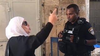 Kudüslü cesur kadınlar İsrail