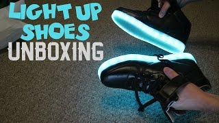 Light Up Shoes - LED Shoes Unboxing